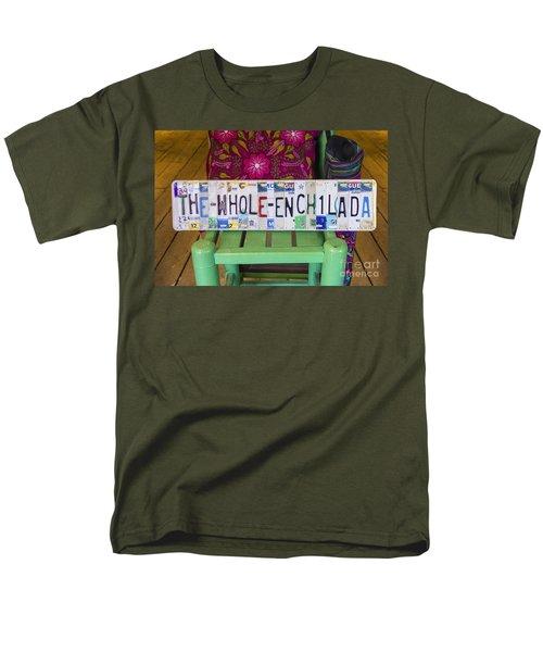 The Whole Enchilada Men's T-Shirt  (Regular Fit) by Priscilla Burgers