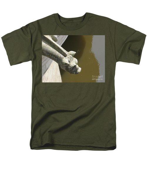 Thirsty Gargoyle Men's T-Shirt  (Regular Fit) by HEVi FineArt