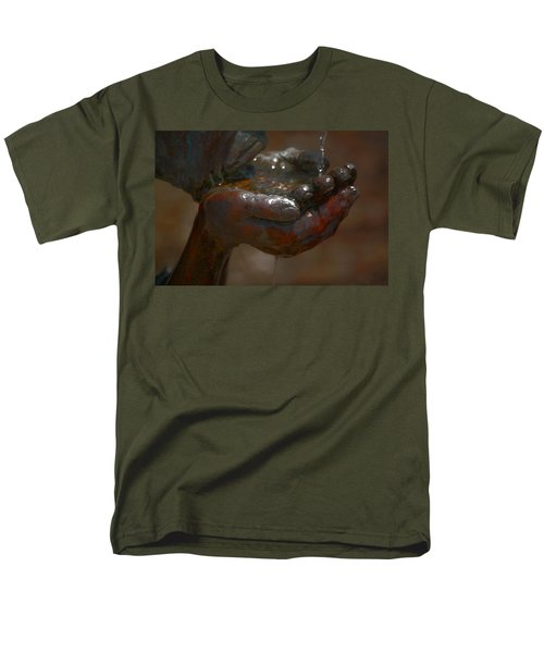 Men's T-Shirt  (Regular Fit) featuring the photograph Thirsty by Leticia Latocki