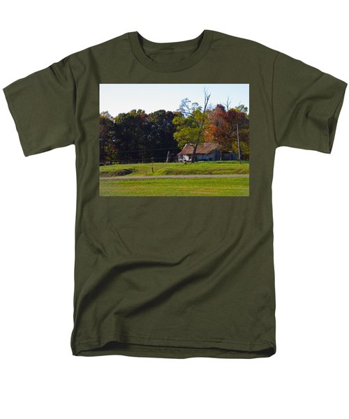 Men's T-Shirt  (Regular Fit) featuring the photograph This Old House by Nick Kirby