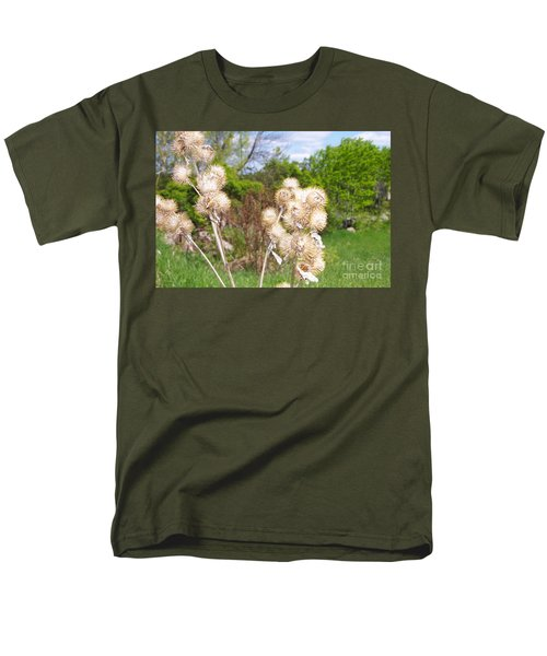 Thistle Me This Men's T-Shirt  (Regular Fit) by Mary Mikawoz