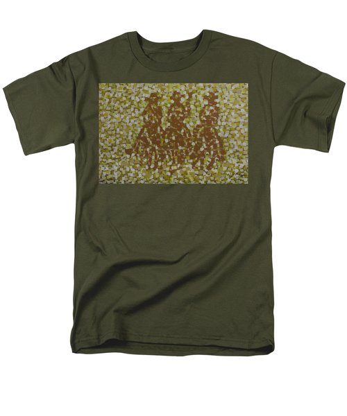 Men's T-Shirt  (Regular Fit) featuring the painting Amigos by Kurt Olson