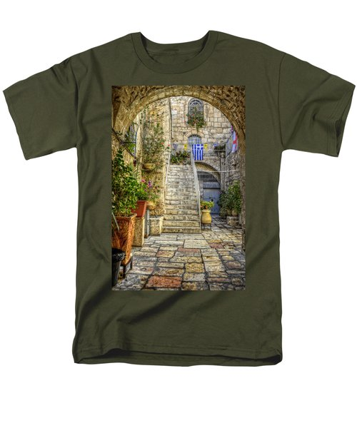 Through The Doorway Men's T-Shirt  (Regular Fit) by Ken Smith