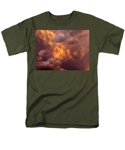 Thunder Clouds Men's T-Shirt  (Regular Fit) by David Pantuso