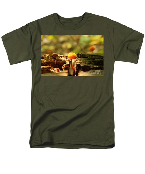 Tiny Mushroom Men's T-Shirt  (Regular Fit)