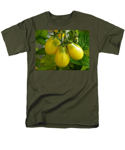 Tomato Triptych Men's T-Shirt  (Regular Fit) by Brian Boyle