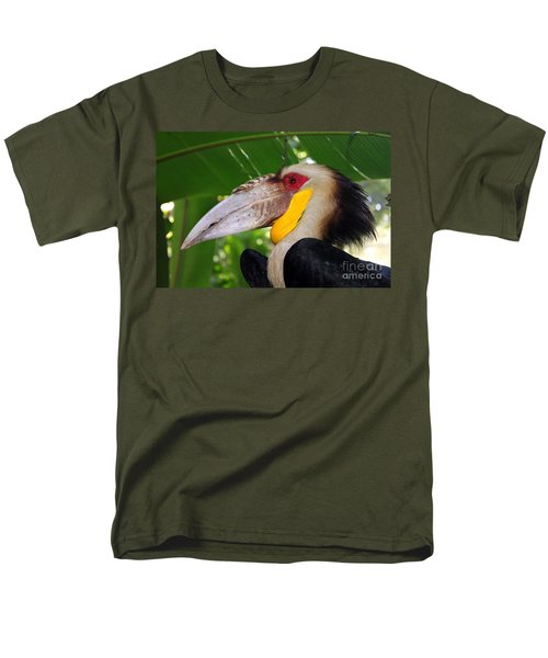 Toucan Men's T-Shirt  (Regular Fit) by Sergey Lukashin