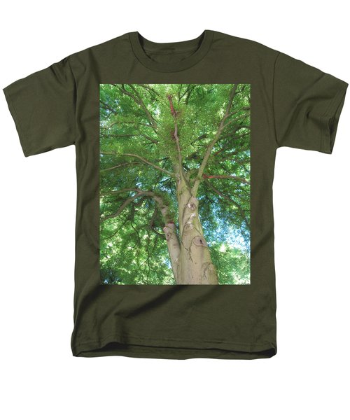 Men's T-Shirt  (Regular Fit) featuring the photograph Towering Tree by Pema Hou