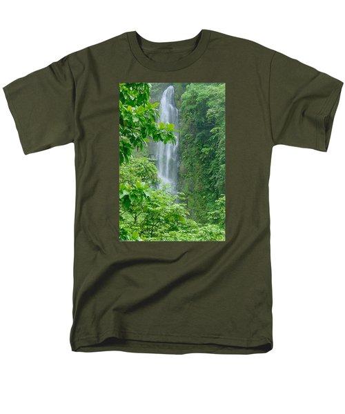 Trafalger Falls Men's T-Shirt  (Regular Fit) by Robert Nickologianis