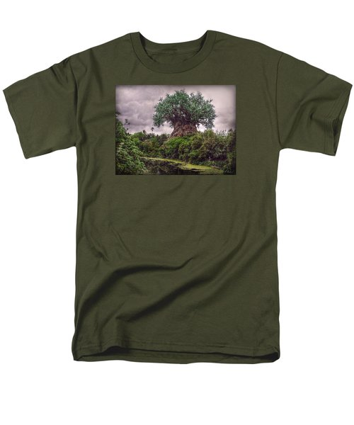 Men's T-Shirt  (Regular Fit) featuring the photograph Tree Of Life by Hanny Heim