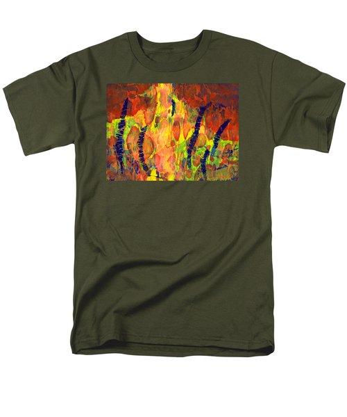 Tribal Essence Men's T-Shirt  (Regular Fit) by Lynda Hoffman-Snodgrass