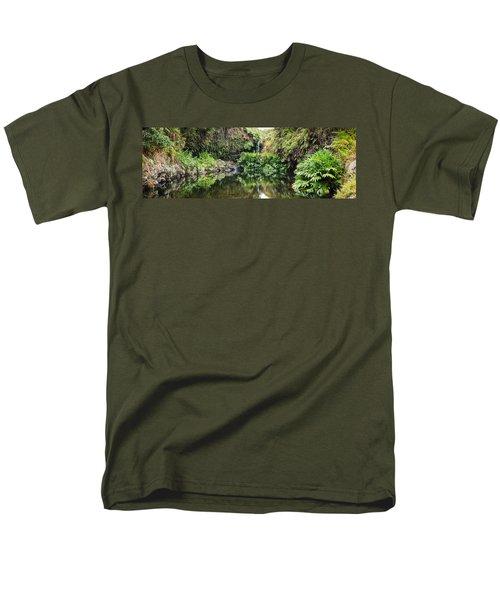 Tropical Reflections Men's T-Shirt  (Regular Fit) by Denise Bird