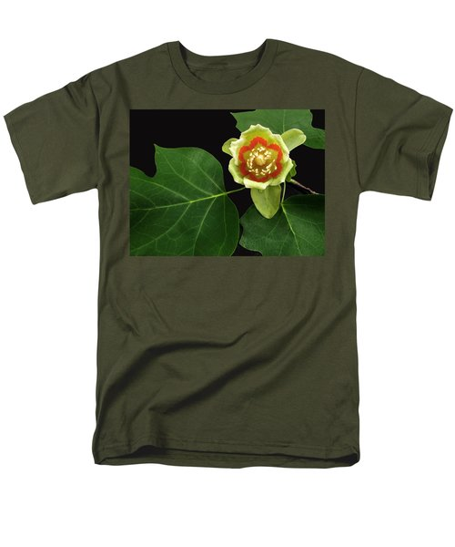 Tulip Bloom Men's T-Shirt  (Regular Fit) by Don Spenner