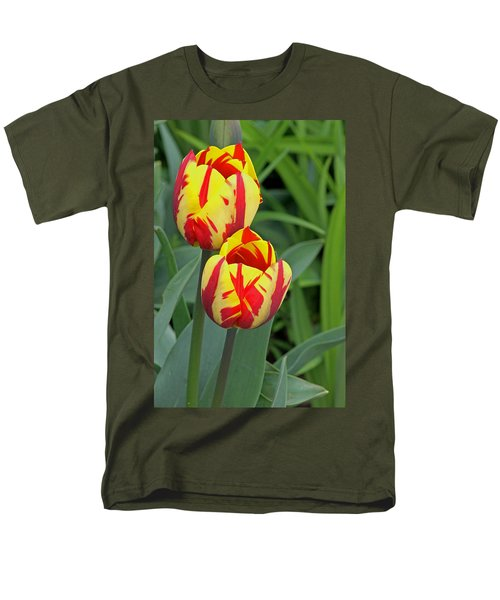 Tulips Men's T-Shirt  (Regular Fit) by Tony Murtagh