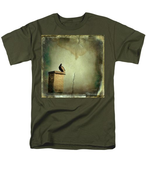 Turkey Vulture Men's T-Shirt  (Regular Fit) by Gothicrow Images