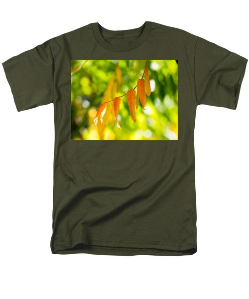 Men's T-Shirt  (Regular Fit) featuring the photograph Turning Autumn by Aaron Aldrich