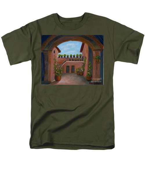 Tuscany Arch Men's T-Shirt  (Regular Fit) by Becky Lupe