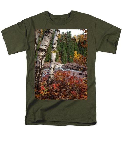 Twin Aspens Men's T-Shirt  (Regular Fit) by James Peterson