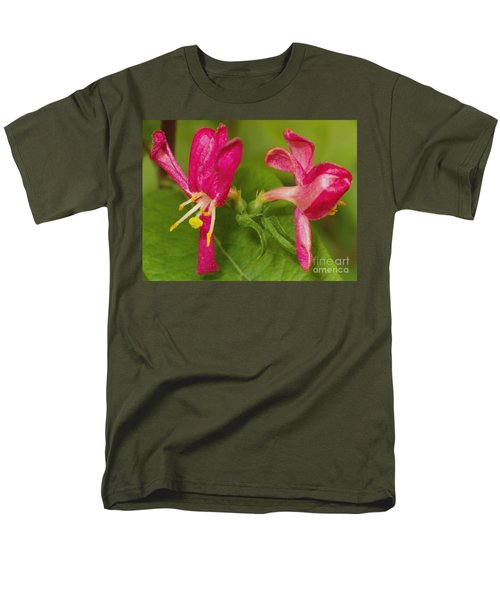 Men's T-Shirt  (Regular Fit) featuring the photograph Twins by Sara  Raber