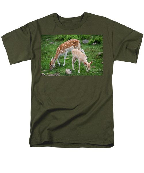Men's T-Shirt  (Regular Fit) featuring the photograph Two Babes by Bianca Nadeau
