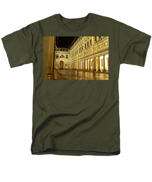Uffizi Gallery Florence Italy Men's T-Shirt  (Regular Fit)