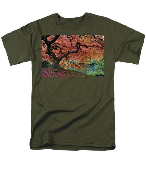 Under Fall's Cover Men's T-Shirt  (Regular Fit) by Wes and Dotty Weber