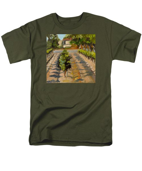 Men's T-Shirt  (Regular Fit) featuring the painting Unparalleled Richness by Pattie Wall