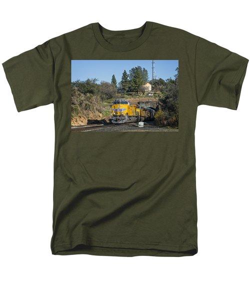 Up 8267 Men's T-Shirt  (Regular Fit) by Jim Thompson
