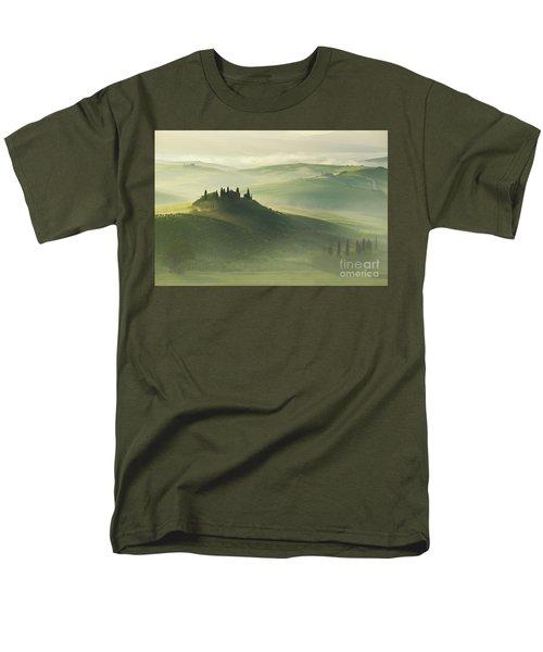 Val D'orcia Men's T-Shirt  (Regular Fit)