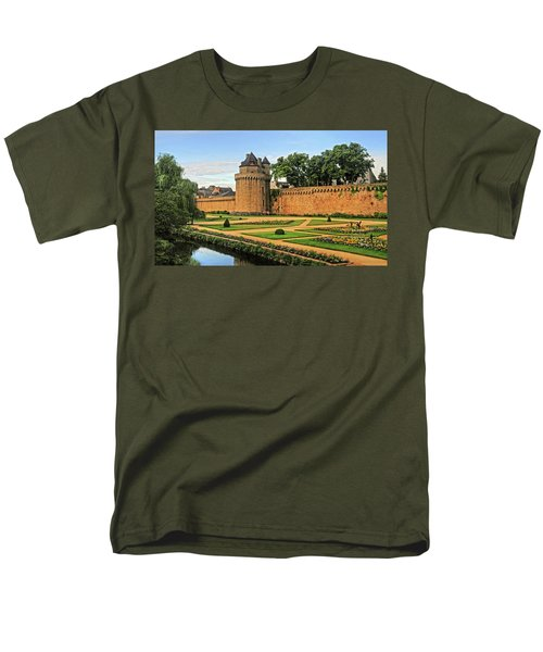 Men's T-Shirt  (Regular Fit) featuring the photograph Vannes In Brittany France by Dave Mills
