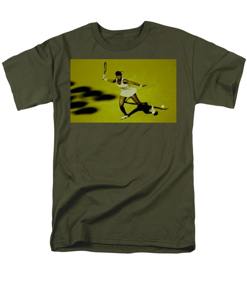 Venus Williams In Action Men's T-Shirt  (Regular Fit) by Brian Reaves