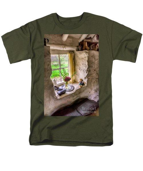 Victorian Window Men's T-Shirt  (Regular Fit) by Adrian Evans