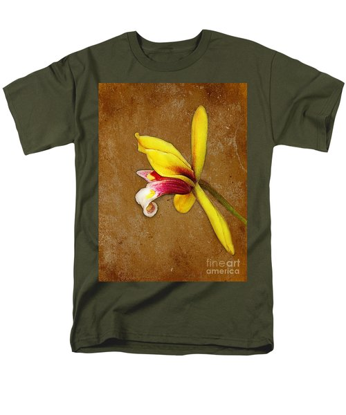 Vintage Orchid Men's T-Shirt  (Regular Fit) by Judi Bagwell