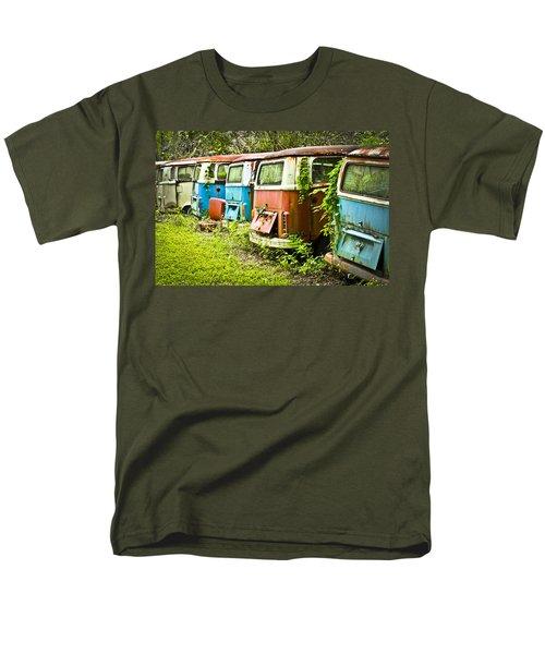 Vw Buses Men's T-Shirt  (Regular Fit) by Carolyn Marshall