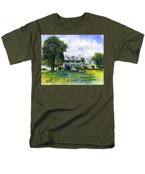 Wades Point Inn Men's T-Shirt  (Regular Fit) by John D Benson