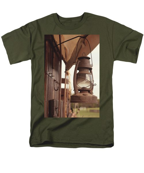 Wagon Lantern Men's T-Shirt  (Regular Fit) by Toni Hopper