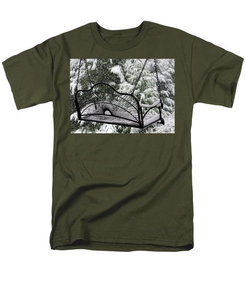 Men's T-Shirt  (Regular Fit) featuring the photograph Waiting For Spring by Katie Wing Vigil