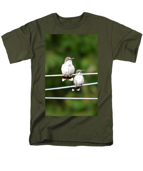 Men's T-Shirt  (Regular Fit) featuring the photograph Waiting Our Turn by Nick Kirby