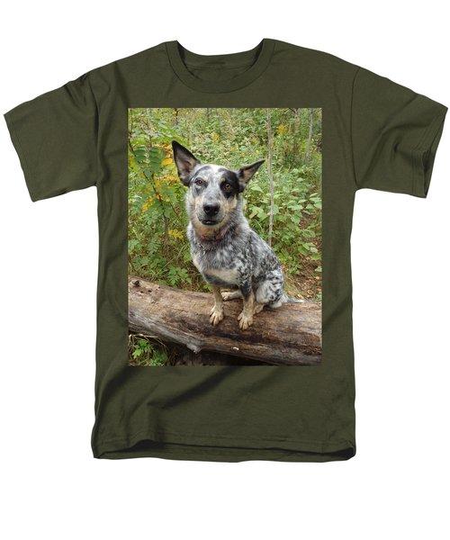 Wanna Play Men's T-Shirt  (Regular Fit) by James Peterson