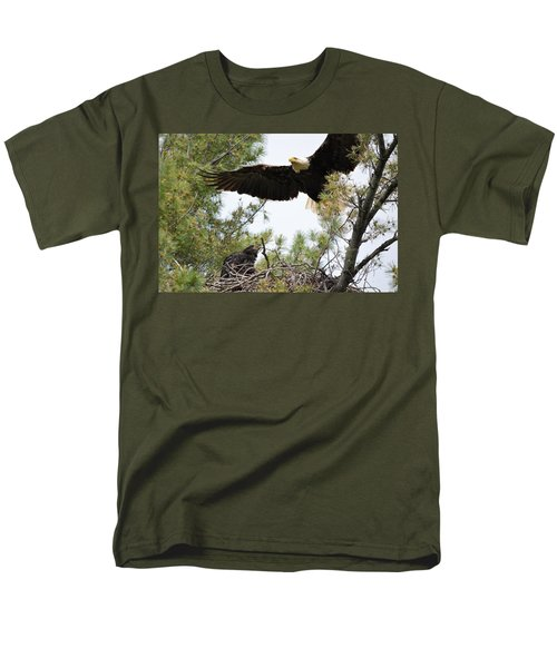 Watch Out Below Men's T-Shirt  (Regular Fit) by Bonfire Photography