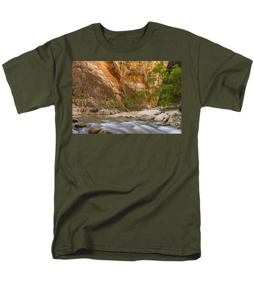Men's T-Shirt  (Regular Fit) featuring the photograph Water In The Narrows by Bryan Keil