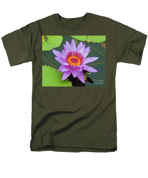 Water Lilies 005 Men's T-Shirt  (Regular Fit) by Robert ONeil