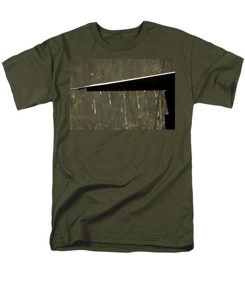 Men's T-Shirt  (Regular Fit) featuring the photograph Waterworks by Charlotte Schafer
