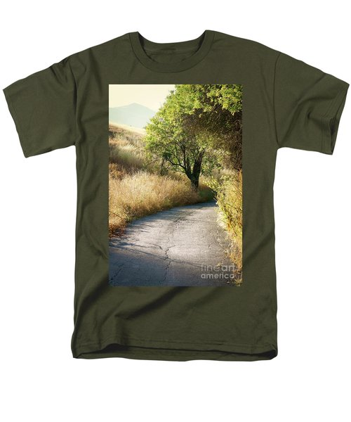 Men's T-Shirt  (Regular Fit) featuring the photograph We Will Walk This Path Together by Ellen Cotton
