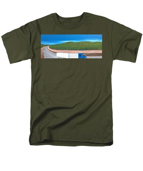 What Happened To My Homeland Men's T-Shirt  (Regular Fit) by Tim Mullaney