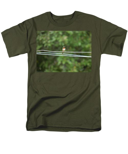 Whats You Talkin Bout  Men's T-Shirt  (Regular Fit) by Nick Kirby