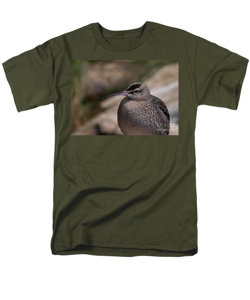 Men's T-Shirt  (Regular Fit) featuring the photograph Whimbrel by Bianca Nadeau