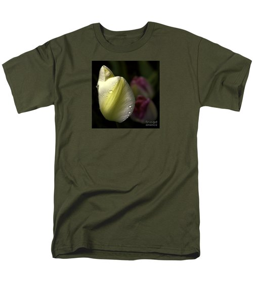Whispering Tulips Men's T-Shirt  (Regular Fit) by Jean OKeeffe Macro Abundance Art