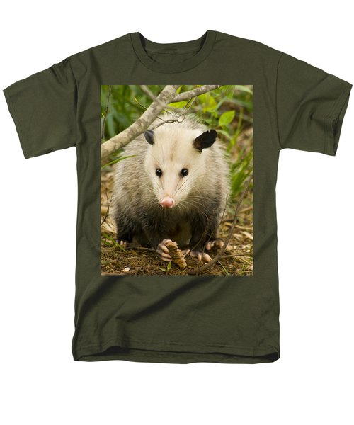 Who Says Possums Are Ugly Men's T-Shirt  (Regular Fit) by Kathy Clark