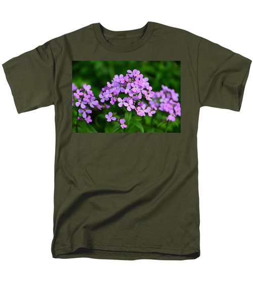 Men's T-Shirt  (Regular Fit) featuring the photograph Wild Phlox by Debra Martz